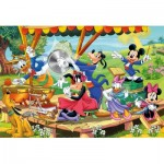 Puzzle  Clementoni-24218 Pièces XXL - Mickey and Friends