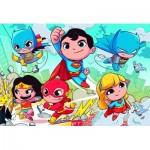Puzzle  Clementoni-24219 Pièces XXL - DC Super Friends