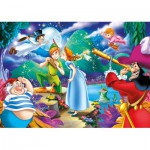 Clementoni-24467 Puzzle XXL - Peter Pan