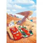 Puzzle  Clementoni-25254 Disney Pixar Cars - 3x48 Pièces