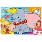 Puzzle  Clementoni-25461 Pièces XXL - Dumbo