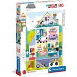 Puzzle  Clementoni-26062 Home Sweet Home