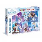 Puzzle  Clementoni-26436 Pièces XXL - La Reine des Neiges