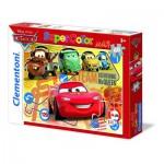 Puzzle  Clementoni-26739 Pièces XXL - Cars