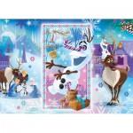 Puzzle  Clementoni-27093 La Reine des Neiges - Olaf