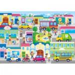 Puzzle  Clementoni-27114 The City