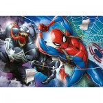 Clementoni-27117 Spiderman Supercolor Puzzle