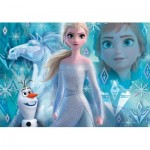 Puzzle  Clementoni-27127 Disney La Reine des Neiges 2