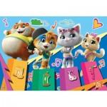 Puzzle  Clementoni-27271 44 Cats