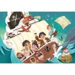 Puzzle  Clementoni-27278 Pirates
