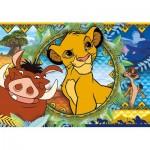 Puzzle  Clementoni-27287 Le Roi Lion