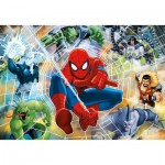 Puzzle  Clementoni-27992 Fluorescent - Spider-Man