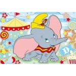 Puzzle  Clementoni-28501 Pièces XXL - Dumbo