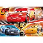 Puzzle  Clementoni-29291 Supercolor Cars 3