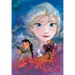 Puzzle  Clementoni-29768 Supercolor Disney Frozen 2