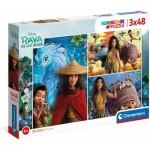 3 Puzzles - Disney Raya