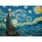 Puzzle  Clementoni-30314 Van Gogh : La nuit étoilée