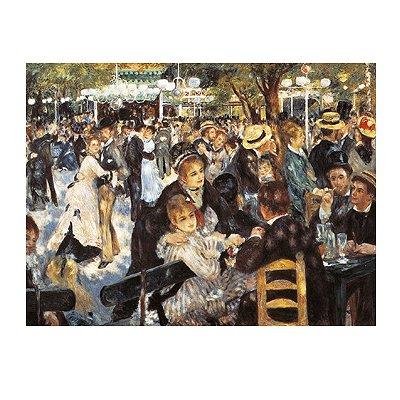 Puzzle Clementoni-31412 Renoir : Le Bal du Moulin de la Galette