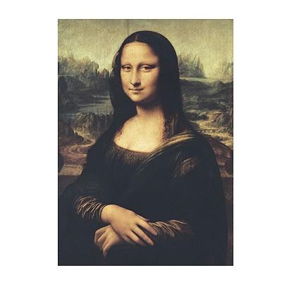 Puzzle Clementoni-31413 Léonard de Vinci : La Joconde