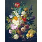Puzzle  Clementoni-31415 Van Dael : Vase de fleurs