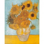 Puzzle  Clementoni-31438 Van Gogh : Les Tournesols