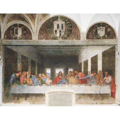 Puzzle Clementoni-31447 Léonard de Vinci  :  La cène