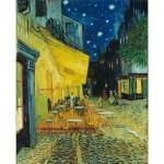 Puzzle  Clementoni-31470 Van Gogh : Le café, le soir