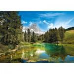 Puzzle  Clementoni-31680 Le Lac Bleu