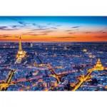 Puzzle  Clementoni-31815 Vue de Paris