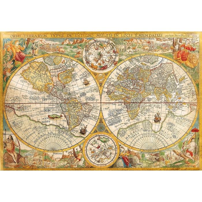 Vieille Carte du Monde