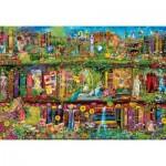 Puzzle  Clementoni-32567 The Garden Shelf