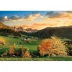 Puzzle  Clementoni-33545 Les Alpes
