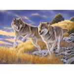Puzzle  Clementoni-35033 Agnew: Les Loups