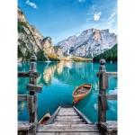 Puzzle  Clementoni-35039 Lake Braies