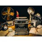 Puzzle  Clementoni-35040 La Machine à Ecrire