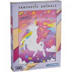Puzzle  Clementoni-35066 Fantastic Animals - Licorne