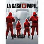 Puzzle  Clementoni-35084 La Casa De Papel