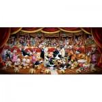 Puzzle  Clementoni-38010 Orchestre Disney