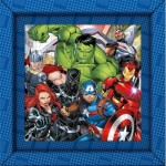 Puzzle  Clementoni-38801 Frame Me Up - Marvel Avengers