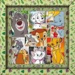 Puzzle  Clementoni-38804 Frame Me Up - Disney Animals