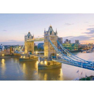 Puzzle Clementoni-39022 Tower Bridge de Londres au Crépuscule
