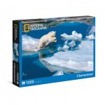 Puzzle  Clementoni-39304 National Geographic - Ours Polaire