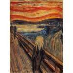Puzzle  Clementoni-39377 Munch Edvard - Le Cri
