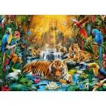 Puzzle  Clementoni-39380 Tigre Mystérieux