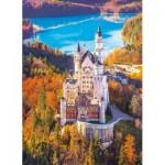 Puzzle  Clementoni-39382 Neuschwanstein, Allemagne