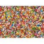 Clementoni-39388 Emoji - Impossible Puzzle!