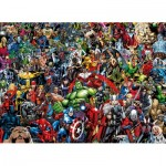 Clementoni-39411 Puzzle Impossible - Marvel