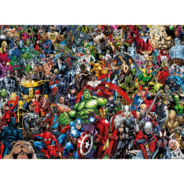 Puzzle Impossible - Marvel