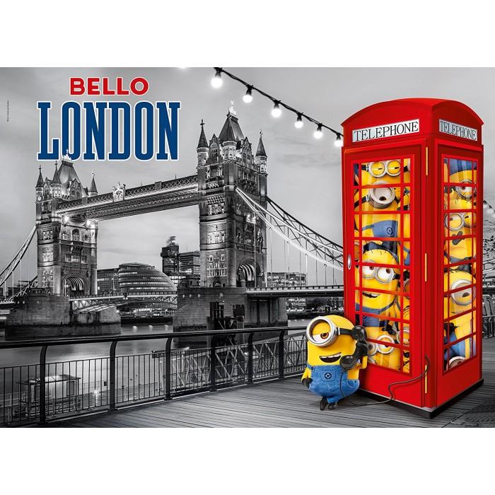 Puzzle Métallisé - Minions à Londres