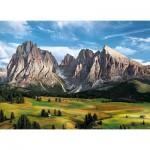 Puzzle  Clementoni-39414 Les Alpes